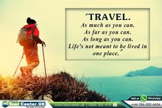 """Travel Quotes:  