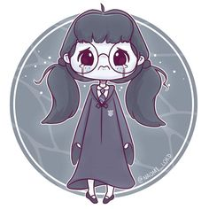 Moaning Myrtle! 'If you die down there, you're welcome to share my toilet'😂😂😂😂 Starting off my spooooky Hogwarts ghost series for October… Harry Potter Tumblr, Harry Potter Anime, Harry Potter Fan Art, Harry Potter World, Memes Do Harry Potter, Cute Harry Potter, Mundo Harry Potter, Harry Potter Drawings, Harry Potter Characters