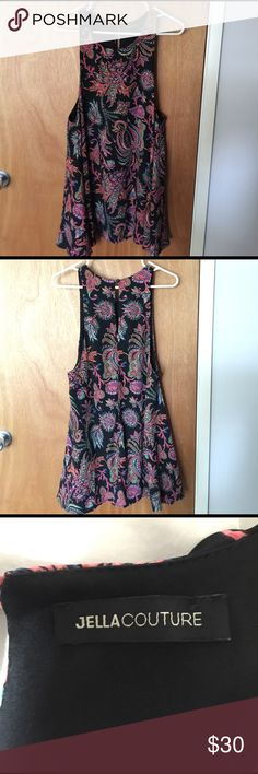 Jella Couture dress 100% polyester. Worn once. No damages. jella couture Dresses Mini