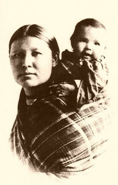 Cherokee mother and child - no date