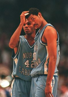 ea9f644f9a07 Jerry Stackhouse   Rasheed Wallace at North Carolina