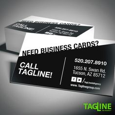 Check out this business card design tagline did for a local tucson need business cards no problem tagline has got you covered call 520 207 8910 or stop by today colourmoves
