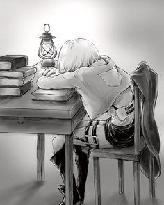 Armin~attack on titan~aot~snk Aot Armin, Levi X Eren, Ereri, Anime Manga, Anime Art, Attack On Titan Anime, Wattpad, Kawaii, Fan Art