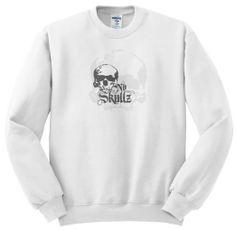 new at Amazon.com : #Dark no #skull #head in #grey - Sweatshirts