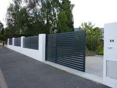 portails et portillons aluminium, clôtures bois, brande...