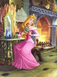 Day 2: favorite princess.  Suprise suprise the same as my favorite movie! !!! *PRINCESS AURORA ~ Sleeping Beauty, 1959