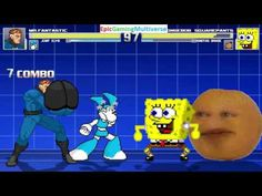 Annoying Orange And SpongeBob SquarePants VS Mr. Fantastic & Jenny The Robot In A MUGEN Match This video showcases Gameplay of Jenny Wakeman The Robot From The My Life As A Teenage Robot Series And Mr. Fantastic The Leader Of The Fantastic Four VS SpongeBob SquarePants And The Annoying Orange In A MUGEN Match / Battle / Fight