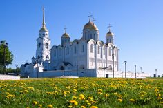 If you prefer more ambitious projects, head for Vladimir to see Dormition Cathedral with its six pillars, five domes, and paintings by the famous Andrei Rublev. Five stars.