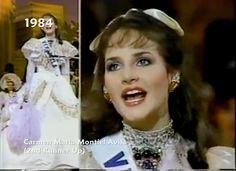 Traje Dama Antañona - Creado para Carmen María Montiel en Miss Universe...