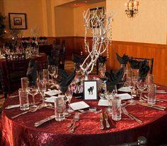 halloween wedding reception ideas 46 love the centerpieces
