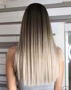 35 Hot Ombre Hair Color Trends for Women in 2019 - Page 23 of 35 - VimDecor - ombre straight hair, brown ombre hair, blonde ombre hair, dark hair, balayage hair - # Brown Ombre Hair, Brown Blonde Hair, Ombre Hair Color, Hair Color Balayage, Dark Hair, Blonde Balayage, Long Ombre Hair, Honey Balayage, Brown Balayage