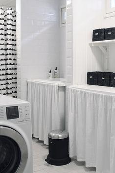 Talon kunnostus – ennen ja jälkeen – Design Wash Washing Machine, Tuli, Home Appliances, Design, Pintura, House Appliances, Domestic Appliances