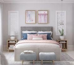 Info Regarding Blush Pink Bedroom Ideas Uncovered 109 Copy - inspiredeccor Blush Pink Bedroom, Pink Bedrooms, Pink Bedding, Luxury Bedding, Girls Bedroom, Bedroom Decor, Bedroom Ideas, White Furniture, New Furniture