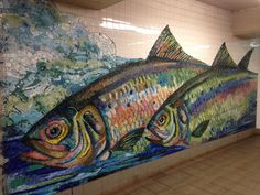 Brooklyn Subway-artist unkown