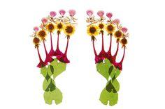 體現花與女性的押花作品集 flora » ㄇㄞˋ點子靈感創意誌