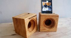 Check out this item in my Etsy shop https://www.etsy.com/listing/456811378/acoustic-wood-amplifier-speaker-for