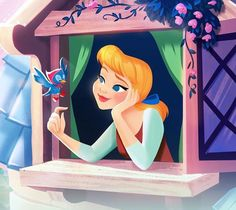 """Well, there's one thing, they can't order me to stop dreaming! and perhaps someday.the dreams that I wish will come true. Cinderella Disney, Disney Princess Art, Disney Nerd, Disney Fanatic, Disney Fan Art, Disney Dream, Disney Girls, Disney Love, Cinderella Drawing"