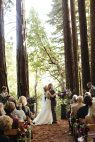 Ben Lomond, CA Wedding from Nightingale Photography + Trisha Dean Events | Style Me Pretty