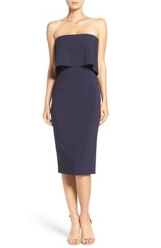 Likely 'Driggs' Strapless Popover Sheath Dress available at #Nordstrom