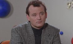 New party member! Tags: bill murray oh really not impressed blank stare incredulous deadpan stare