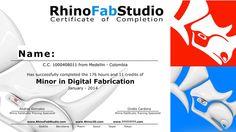Rhino News, etc.: Digital Fabrication Minor at UPB - Medellin