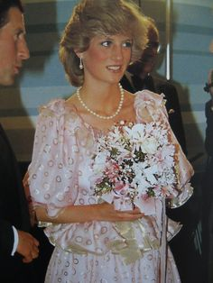 April 14, 1983: Prince Charles & Princess Diana attends the Royal Gala Concert, Melbourne Concert Hall in Victoria, Australia.