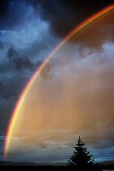 God's promise~~Rainbow Over Bern, Switzerland by LeWelsch~~ Rainbow Magic, Rainbow Sky, Love Rainbow, Over The Rainbow, Beautiful Sky, Beautiful Landscapes, Beautiful World, All Nature, Amazing Nature