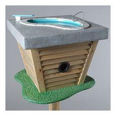 Funny birdhouses <3