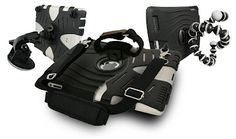 """Drop proof your iPad 2 with Ekto2. The Ekto2 case is a relatively inexpensive, $29.95, alternative to some of ther more expensive and bulkier iPad2 cases. This case is made from a softer silicone material with many air cells and ribs inside that provide cushion and create a """"bounce"""" effect."""