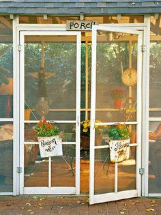 Enclosed Screen Porch Ideas | Porch: Outdoor Paradise - MyHomeIdeas.com