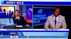 JERRY RICE INTERVIEW ON WGN TALKING ABOUT NFL CAREER DANCING W STARS & L...