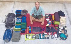 My 111 Possessions: Where he is now, and how he got here.  A truly minimalistic lifestyle.