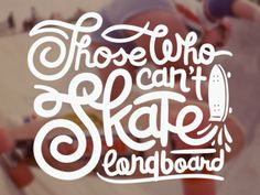 Is it true? Type by Jetpacks and Rollerskates. #typography #type