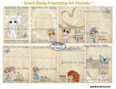 This is a paper Pocket Letter Instant Download...  Scroll down to see Bonnie's video on what she did with this pocket letter kit.