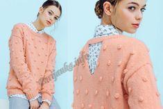 Пуловер (ж) 05*655 Phildar №5015