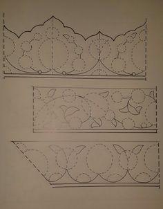 Boxer design progression for Tezhip Islamic Art Pattern, Arabic Pattern, Pattern Art, Turkish Pattern, Oriental Pattern, Zentangle, Arabesque Pattern, Persian Motifs, Turkish Art