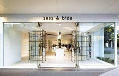 Sass and Bide curved windows