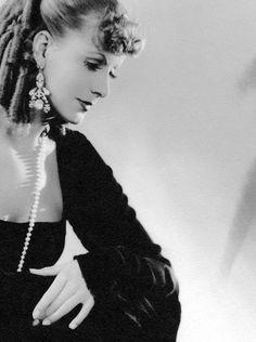 "sourvix: ""  Greta Garbo, Romance — 1930 """