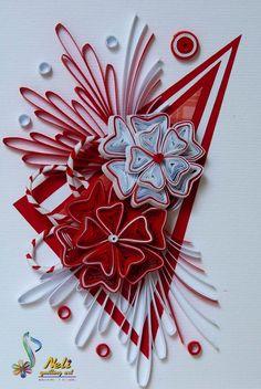 Neli Quilling Art: Quilling cards-/10.5 cm-7.4 cm/
