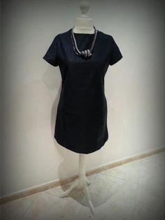 Blue dress project on Craftsy.com