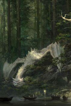 White Dragons by Xiaodi