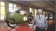 March 2, 2005 Umberto Todero , one of the best known and most respected designers on the world motorcycling scene has passed away at the age of 82. Todero spent