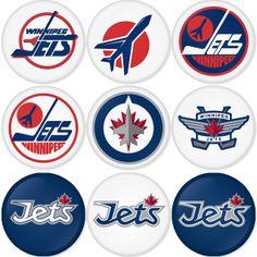 Jets Hockey, Ice Hockey Teams, Hockey Stuff, Nhl Logos, Sports Logos, Hockey Room, Goalie Mask, Ice Ice Baby, Nfl Fans