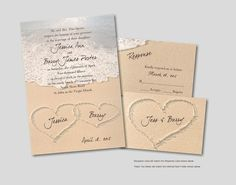 seal and send beach wedding invitations to set the tone for your beach theme weddings beach wedding invitations beach weddings and beach themes - Beach Themed Wedding Invitations