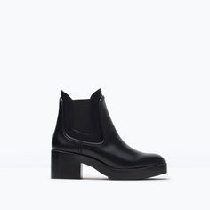Image 1 of TRF FLAT BOOTIE from Zara  39,95