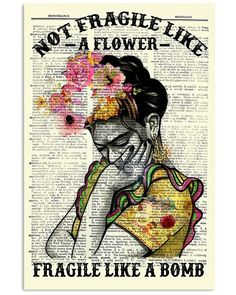 Shop for unique Frida Kahlo. apparel and homegoods on HearOurVoice. Find the perfect Frida Kahlo. t-shirts, mugs, posters, phone cases, and more. Art Quotes, Funny Quotes, Inspirational Quotes, Muse Quotes, Motivational, Feminist Art, Flower Shirt, Vintage Posters, Book Art