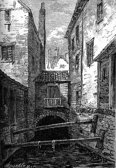 A Walk Through Walter Thornbury's London Time Pictures, London Pictures, Old Pictures, Old Photos, London Architecture, Architecture Portfolio, Historical Architecture, House Sketch, House Drawing