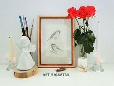 Birds by Balbatro on Etsy