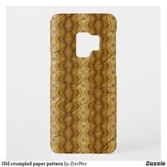 Old crumpled paper pattern Crumpled Paper, Samsung Galaxy S9, Pattern Paper, Design
