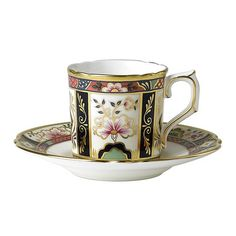 Chelsea Garden Coffee Cup and Saucer
